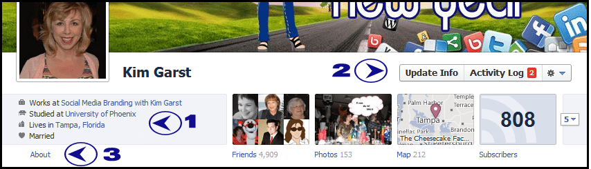 21 How to Add Your Facebook Fan Page to Your Personal Profile Employer Link