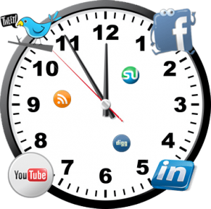 SocialMediaClock 300x298 3 Tips That Will Help You Manage Your Social Media Time