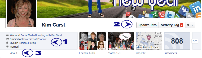 How to Add Your Facebook Fan Page to Your Personal Profile Employer Link