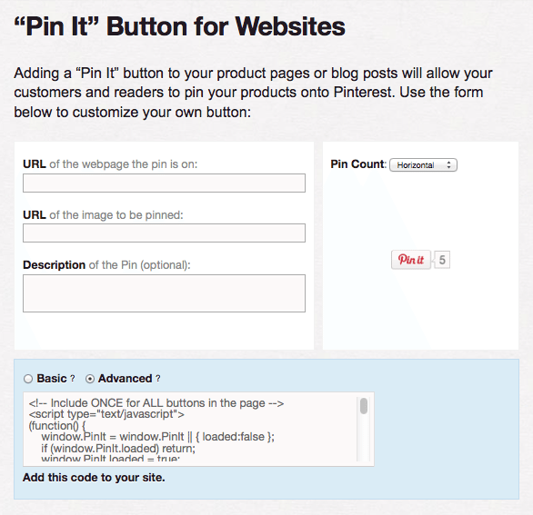PinItButtonforPages How To Add A Pinterest Button To Your Site and Get Massive Amounts of Traffic