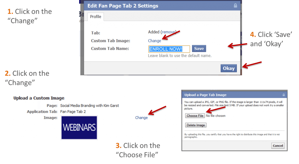 Chaning the Thumbnail Image 1024x562 How to Add a Pinterest Tab to Your Facebook Fan Page