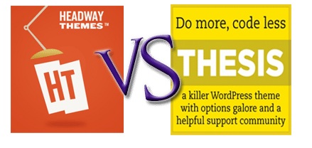 How Does Thesis versus Headway Compare?