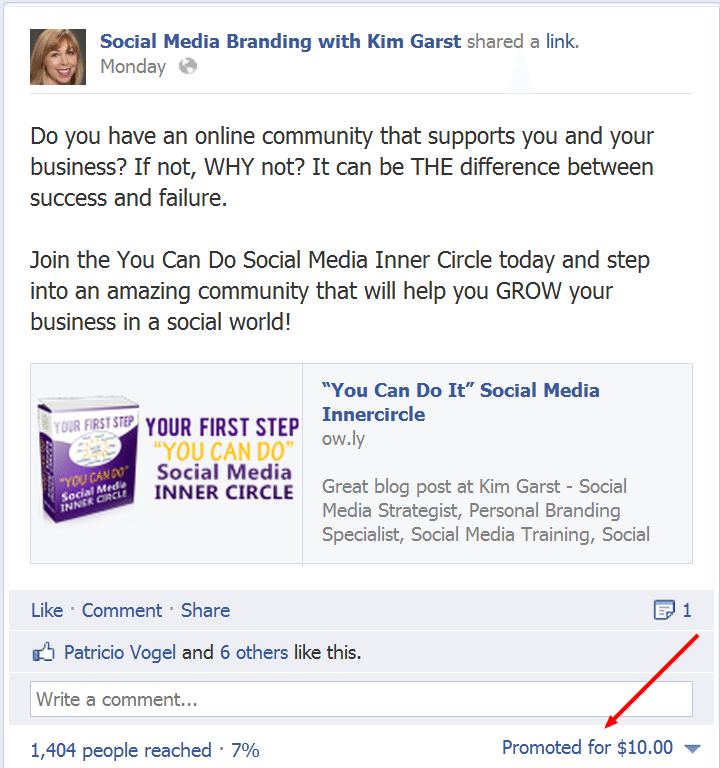 5 Social Media Branding with Kim Garst Facebook Releases Promoted Posts for Pages