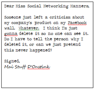 Miss Manners Letter 3 The Social Media Etiquette Guide You Wish Miss Manners Had Written