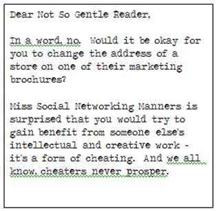 Miss Manners Response 2 The Social Media Etiquette Guide You Wish Miss Manners Had Written