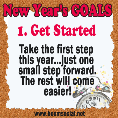 12 Highly Effective New Year's GOALS!