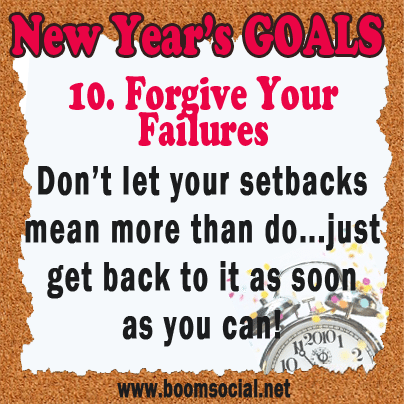 Resolutions10 12 Highly Effective New Years GOALS!