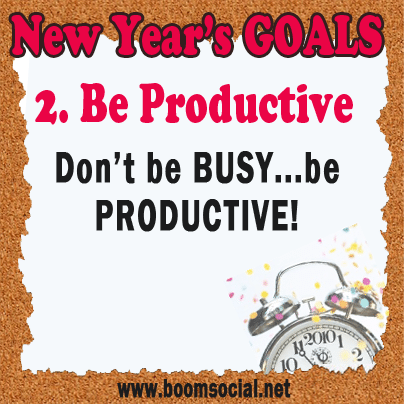 Resolutions2 12 Highly Effective New Years GOALS!