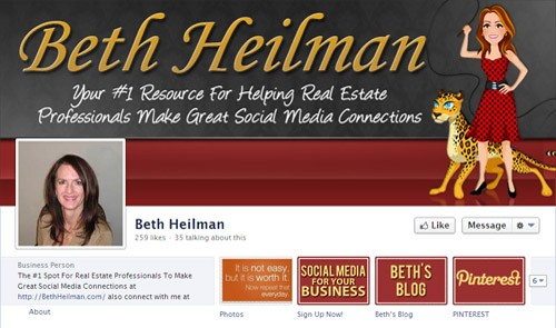 portfolio facebook timeline bethheilman See The Results