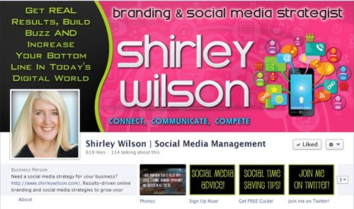 portfolio facebook timeline shirleywilson See The Results