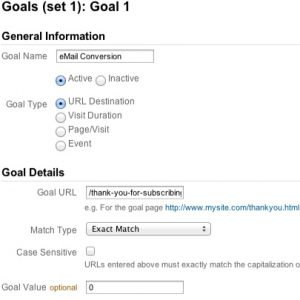 Google Analytic Goals 300x300 5 Tools for Reviewing Social Media Performance