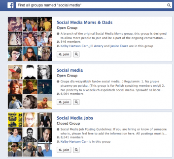 groups 353x324 6 Ways to Use Your Personal Facebook Profile for Business