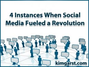 4 instances 300x225 4 Instances When Social Media Fueled a Revolution