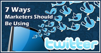 7 ways marketers should be using twitter pi 7 Ways Marketers Should Be Using Twitter