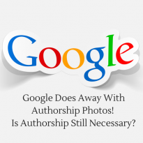 Google Does Away With Authorship