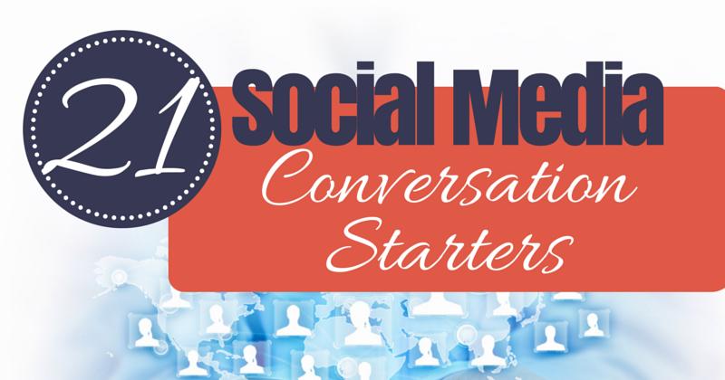 social media conversation starters
