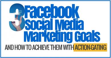 3 Facebook social media marketing goals