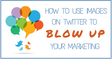 How to Use Images on Twitter To Blow Up