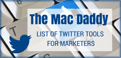 Twitter Tools for Marketers