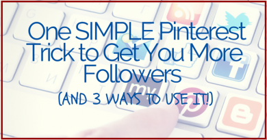 One Simple Pinterest Trick (and 3 ways to use it!)