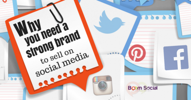Why You Need A Strong Brand to Sell on Social Media