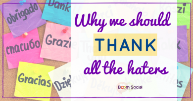 Why we should thank all the haters