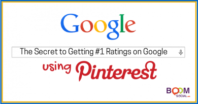The Secret to Getting #1 Ratings on Google Using Pinterest