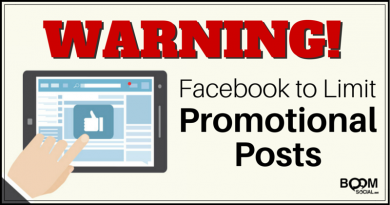 Facebook to Limit Promotional Posts
