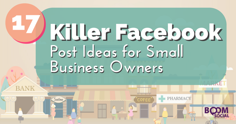 how to make a business facebook post
