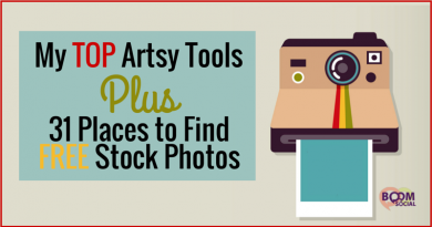 BD - My TOP Artsy Tools Plus 31 Places to find free stock photos - Kim Garst