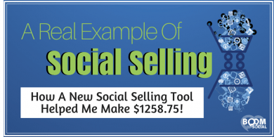 A Real Example of Social Selling