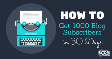 HOW TO GET 1000 BLOG SUBSCRIBERS IN 30 DAYS - KIM GARST