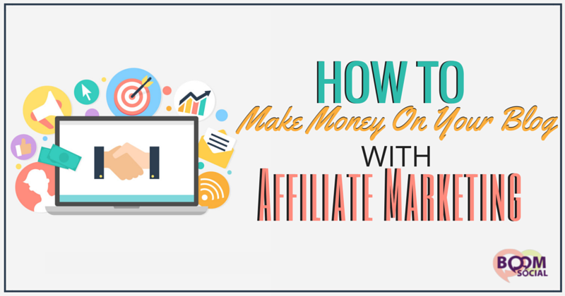How to Make Money on Your Blog with Affiliate Marketing - Kim Garst