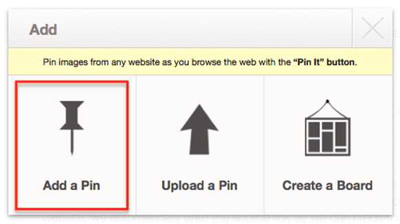 Add Add a pin(1) How Do I Pin On Pinterest?