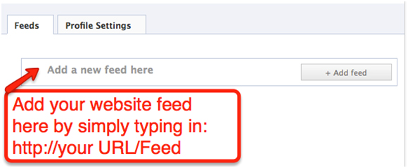 Blog To FBFP E How to Add Your Blog Posts to Your Facebook Fan Page