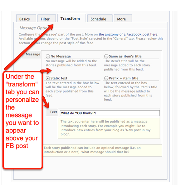 Blog To FBFP L How to Add Your Blog Posts to Your Facebook Fan Page