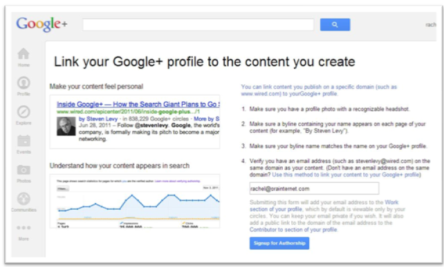 How to Setup Google Authorship for SEO