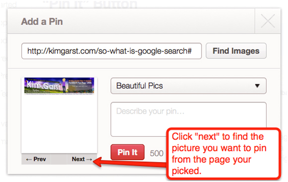 Next Add A Pin(1) How Do I Pin On Pinterest?
