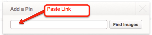 Paste a link(1) How Do I Pin On Pinterest?