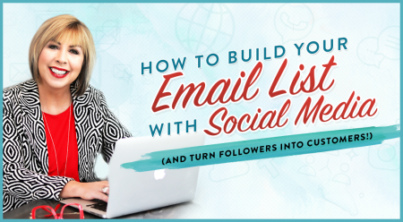 How to Build your Email List with Social Media (and turn followers into customers)