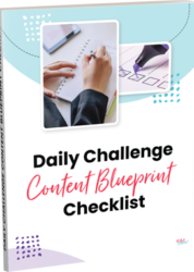 Freebie-Daily Challenge Content Blueprint Checklist (2)