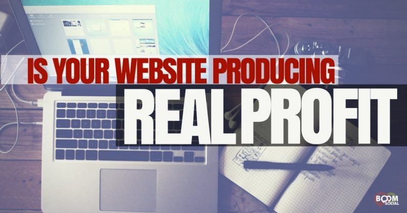 "Is Your Website Producing ""REAL"" Profits?"
