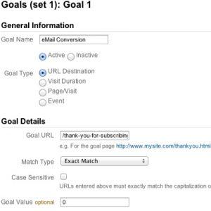 Google-Analytic-Goals