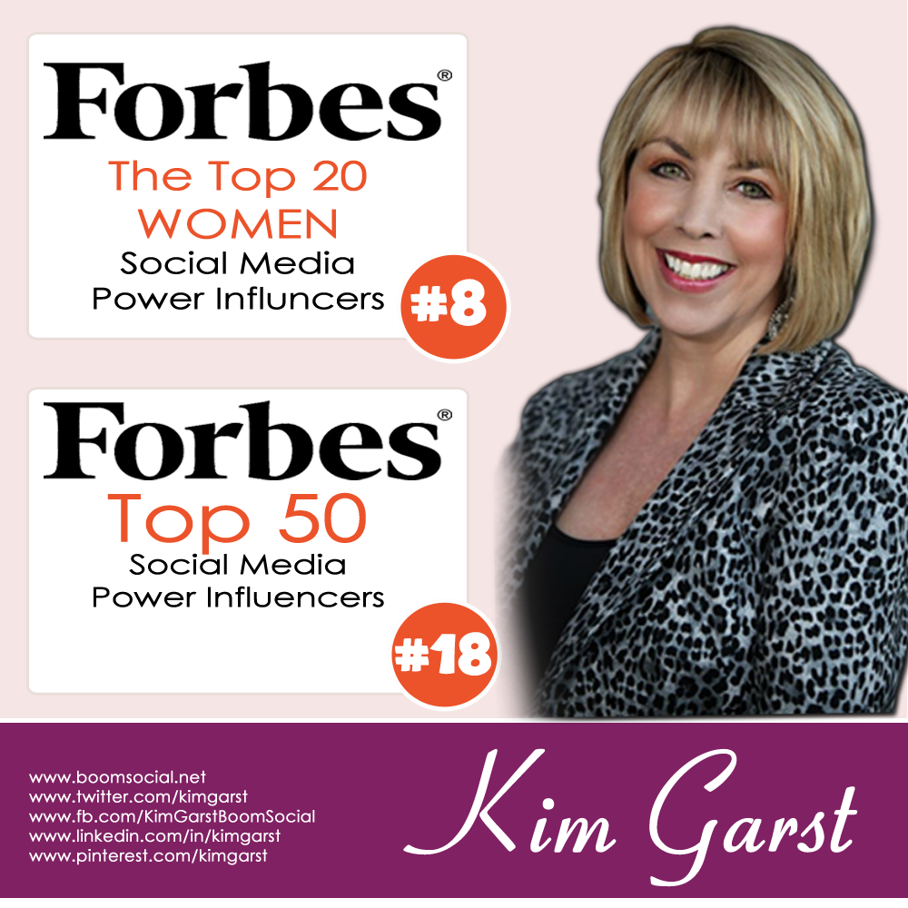 Forbes Top 20 Women Social Media Power Influencer