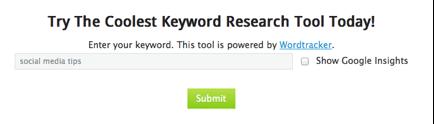 Keyword Tools 4