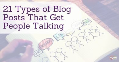 Types of blog posts that get people talking
