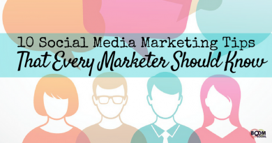 social media marketing tips for marketers and small businesses