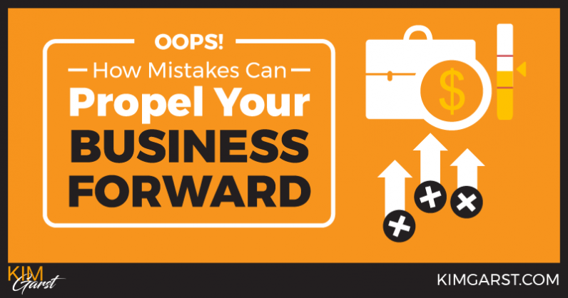 Oops! How Mistakes Can Propel Your Business Forward