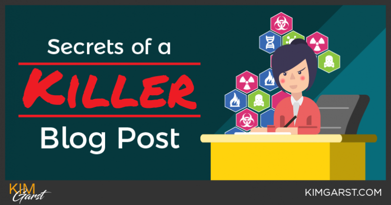 Secrets Of A Killer Blog Post