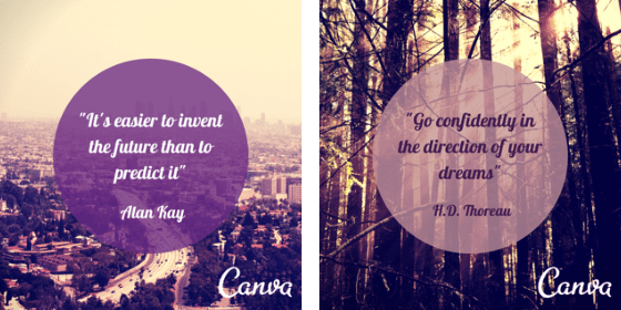 canva quote